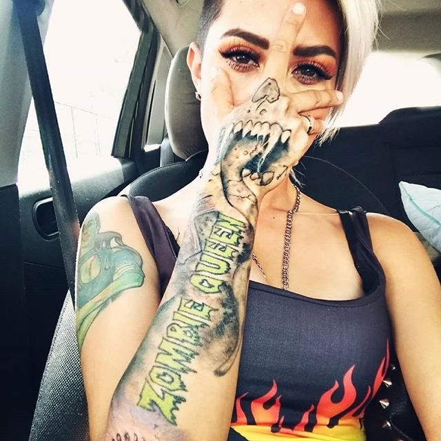 New The 10 Best Workout Ideas Today With Pictures Zombie Queen Tatuajes Por Art Juan Ledesma Tattoo Tatuaje Tomboy Tattoo Inked Girls Tomboy Fashion