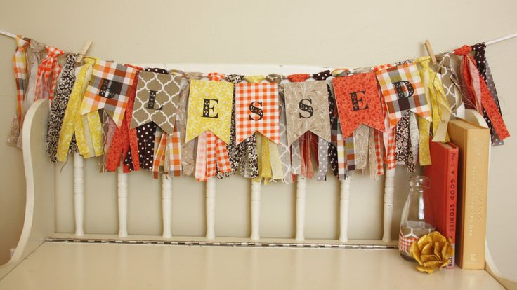Perfect for thanksgiving! Blessed ://www.etsy.com/ca/listing/252614633/blessed-banner-thanksgiving-banner-fall