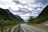 View Out Over Maurangerfjorden, Hordaland, Norway. Royalty Free Stock Photo, Pictures, Images And Stock Photography. Image 14956257.