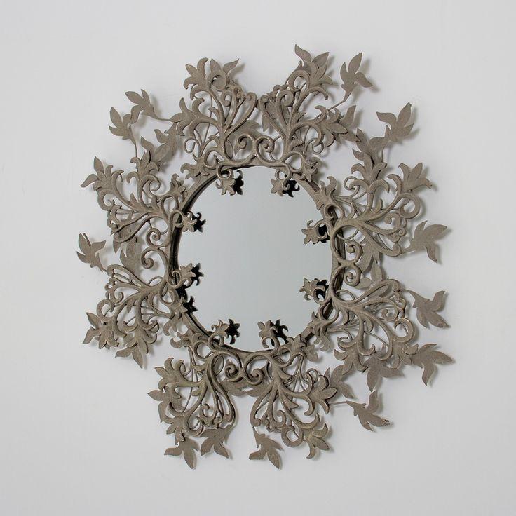 Curly Vines Round Wall Mirror | SKU119081 | Reg $285, now $142.50