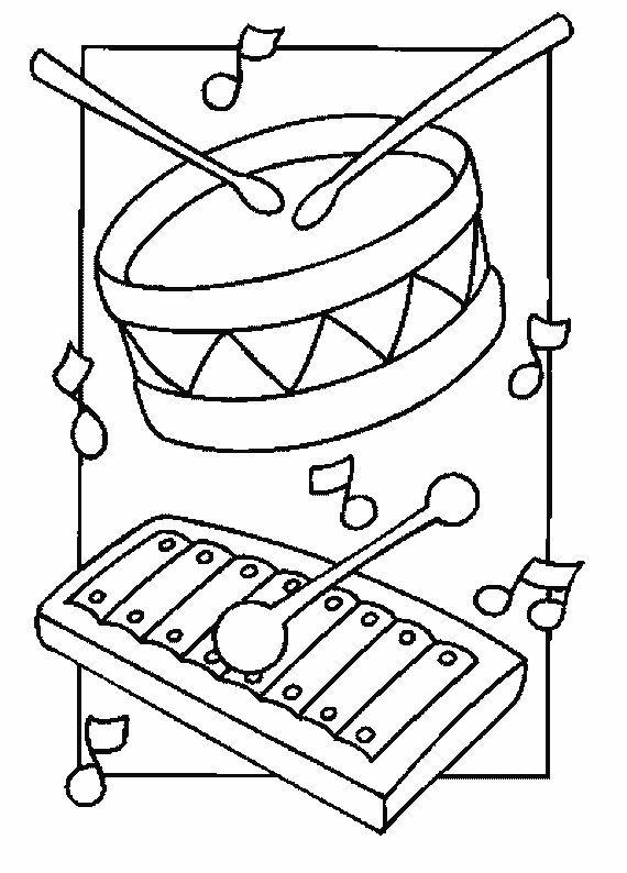 Fichas De Instrumentos Musicales Guitarra Piano Trompeta Flauta Ins Dibujos De Instrumentos Musicales Actividades Musicales Preescolares Fichas De Musica