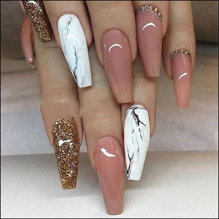 100 Cool And Classy Prom Nail Art Designs For Glamorous Look 2019 Page 43 Producttall Com Ballerina Nails Coffin Nails Designs Fake Nails