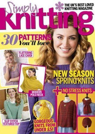 Simply Knitting — April 2017 скачать бесплатно
