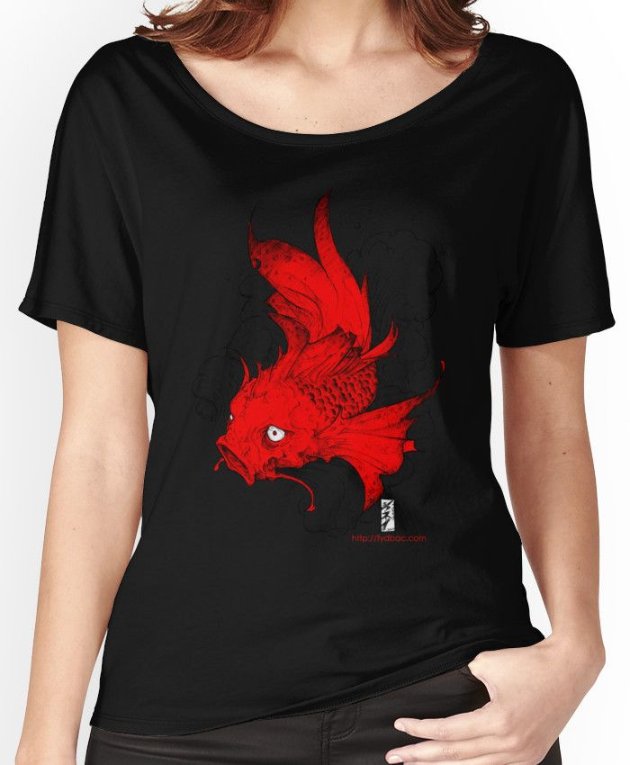 Koi | red Women's Relaxed Fit T-Shirts