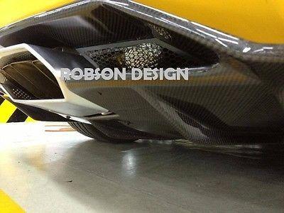 Lamborghini Aventador LP700-4 Carbon Fiber REAR DIFFUSER 2016