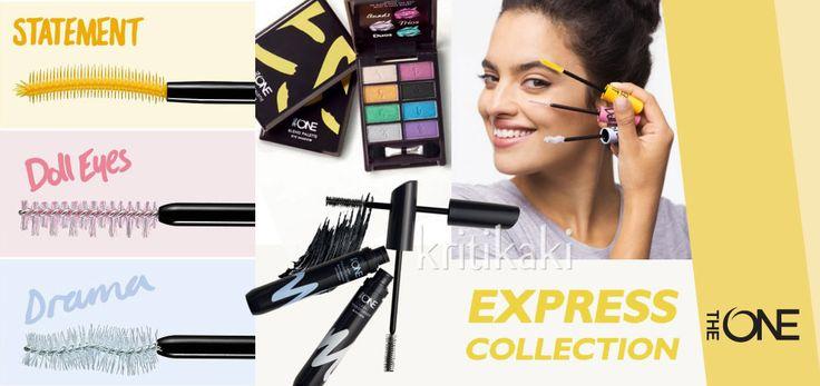 Διαγωνισμός Oriflame Kritikaki Effie με δώρο 2 σετ μάσκαρα & βουρτσάκια Element- Doll Eyes – Drama – Oriflame Express The ONE Collection
