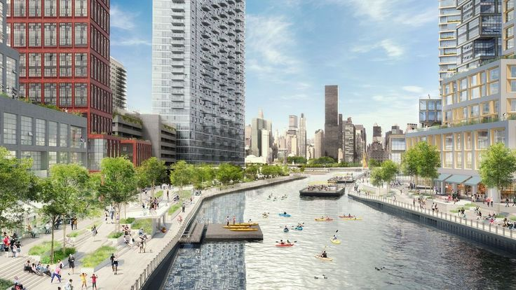 Plaxall Realty is seeking a 15-acre rezoning that would transform the Long Island City waterfront.