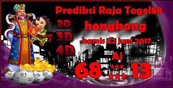 Prediksi Togel Hongkong Kamis 22 Juni 2017