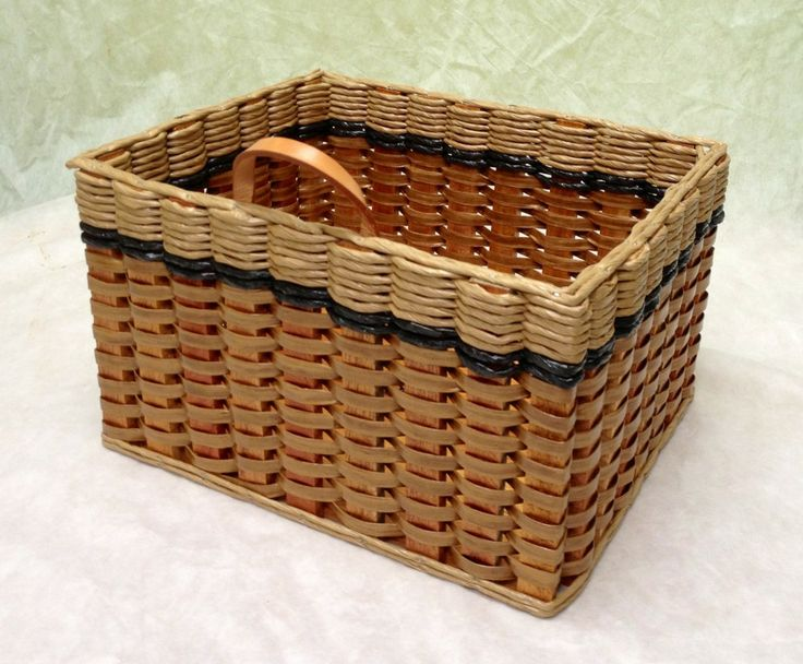 Cubby basket. This basket is a standard size that fits into many pieces of furniture. (14Lx11.5Wx8H) It looks great in a closet or pantry for storage!