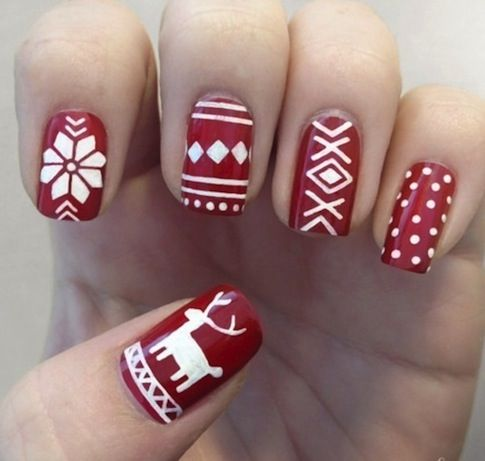 Festive #Nail Colors for the #Winter #Holidays