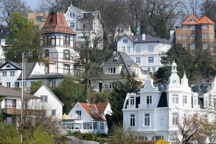 Blankenese Treppenviertel Süllberg, Hamburg   weitergepinnt von der #Werbeagentur www.BlickeDeeler.de aus #Hamburger