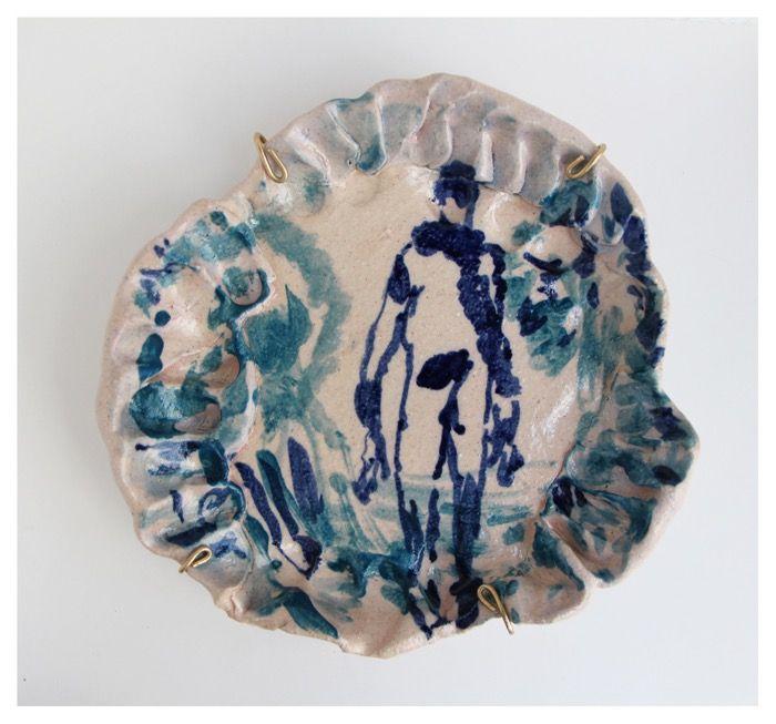 'While We Were Lost 14'   Glazed Ceramic   R 3 100