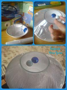 EXPERIMENTO: La evaporación y condensación del agua