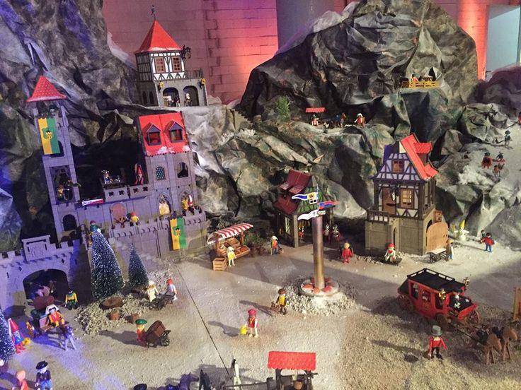 Playmobil diorama. Hét Playmobil-dorp op Station Breda!