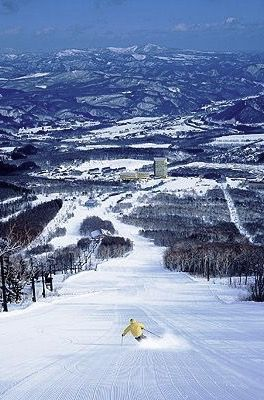Skiing in Japan I've been there!