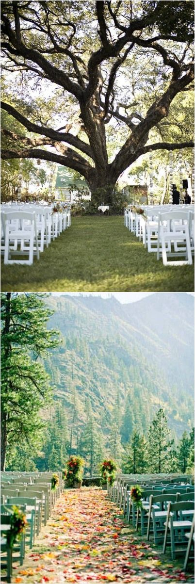 Rustic Weddings » 20+ Genius Outdoor Wedding Ideas » Outdoor wedding venues