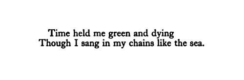 """Dylan Thomas, """"Fern Hill"""""""