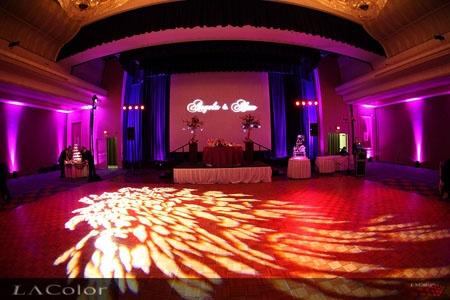 Lighting Defines The Dance Floor Lighting Your Wedding