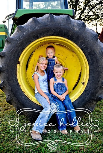 farm picture. If my nephews would sit still long enough, this would be great