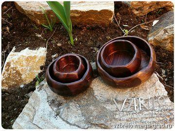 Миски деревянные. - изделия из дерева, необычные принадлежности для дома и интерьера. МегаГрад - город мастеров