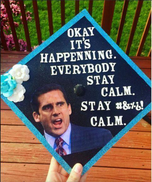 graduation cap decoration; graduation cap designs college; graduation cap ideas; graduation party ideas #graduation - #college #decoration #designs