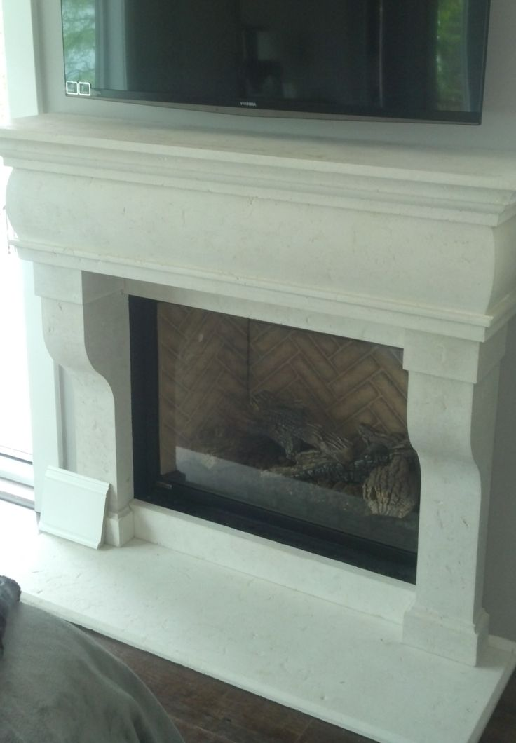 French country cast stone fireplaces custom size mantels for French country stone fireplace