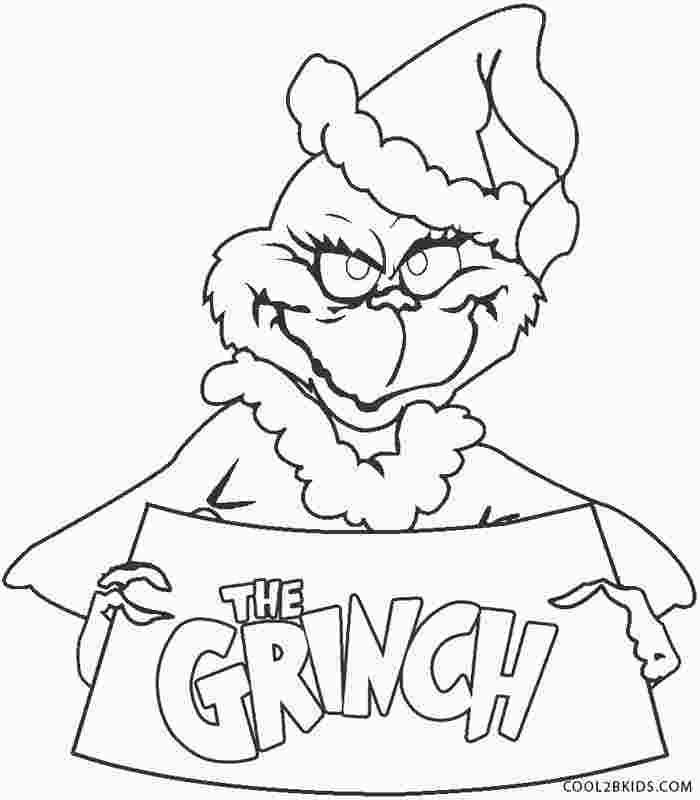 The Grinch Coloring Pages Printables Grinch Coloring Pages Dr Seuss Coloring Pages Disney Coloring Pages