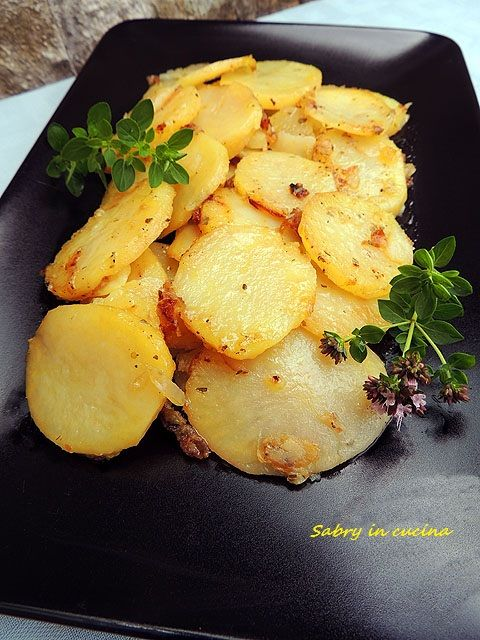 Patate mpacchiuse, , ricetta tipica calabrese,  Sabry in cucina blog