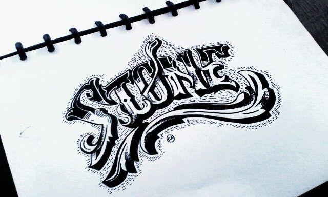 Stone #SketchBook #brand #marker