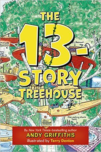 The 13-Story Treehouse (The Treehouse Books): Andy Griffiths, Terry Denton: 9781250070654: Amazon.com: Books
