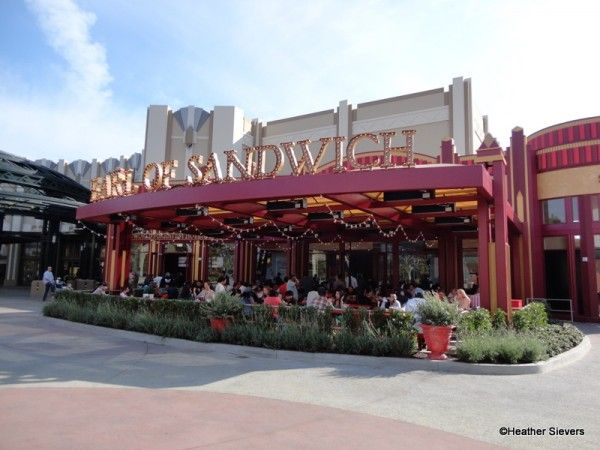 Earl of Sandwich Downtown Disney - heard this place was awesome, will check it out next time we go ;)