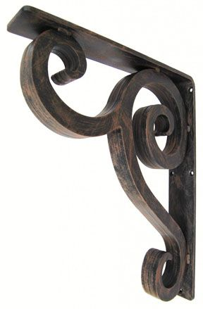 Linley Metal Corbels Support Granite- Legacy Bracket -- I like this one the best!
