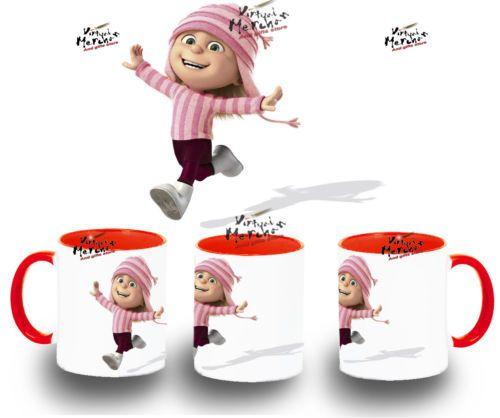 TAZA GRU 2 EDITH MUG VARIOS COLORES tazza tasse coupe niña rubia villano | eBay