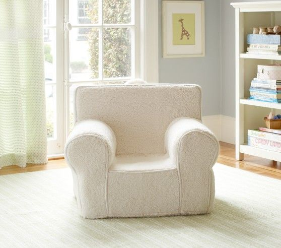 Chairs, Pottery barn kids and Faux fur on Pinterest