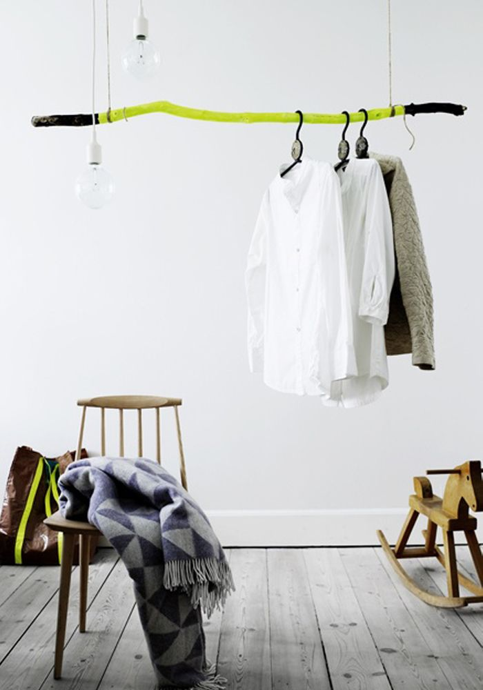 17 best images about clothing rack rails on pinterest - Burros para ropa ...