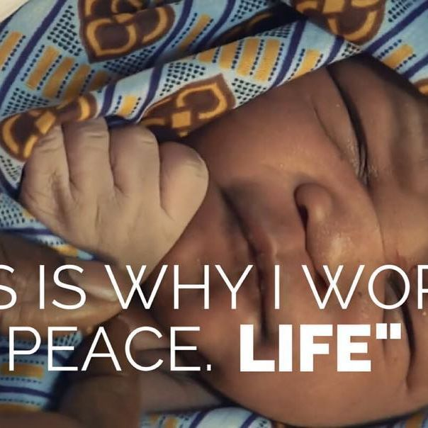 """Sometimes it's just that simple. Words spoken by Sister Freda Robinson, a nurse in rural Kenya providing free medical care to her community - and delivering babies on her """"off time"""". :) *Learn more about Sister Freda and her work at www.achanceforpeace.com.  #tbt #baby #babies #kids #women #hero #kenya #africa #newborn #aw #peace #unity #inspiration #quotes #respect #kindness #gratitude #powertothepeaceful #spirit #wisdom #acfp #child #love #humanity #charity #life #film"""