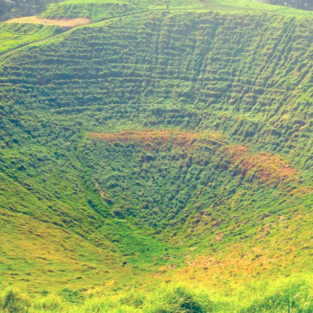 The crater of Mt Eden seen here was called Te Ipu-a-Mataaho (the bowl of Mataaho) because this is where Mataaho lived. It is also said that the other volcanic cones of Auckland were formed when Mataaho's wife left him and took his clothes, so the goddess Mahuika sent fires to warm him. http://www.teara.govt.nz/en/photograph/3920/maungawhau-mt-eden