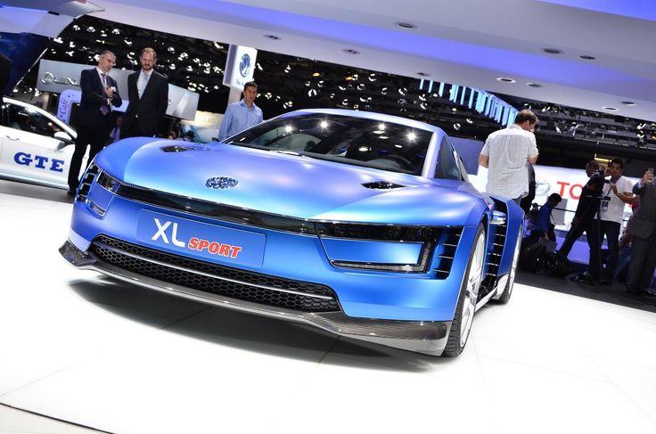 Volkswagen XL Sport Paris 2014 Wallpaper