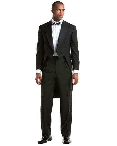 Brooks Brothers Black Tuxedo Tails