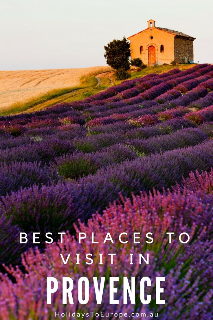 Think long, lazy summers, fields of lavender and hilltop villages and chances are you'll be thinking about Provence in the south of France.  It's been a hot destination amongst travelers for many years but what are the best places to visit in a region that offers so much? We explore 10 of the best places to visit in Provence.