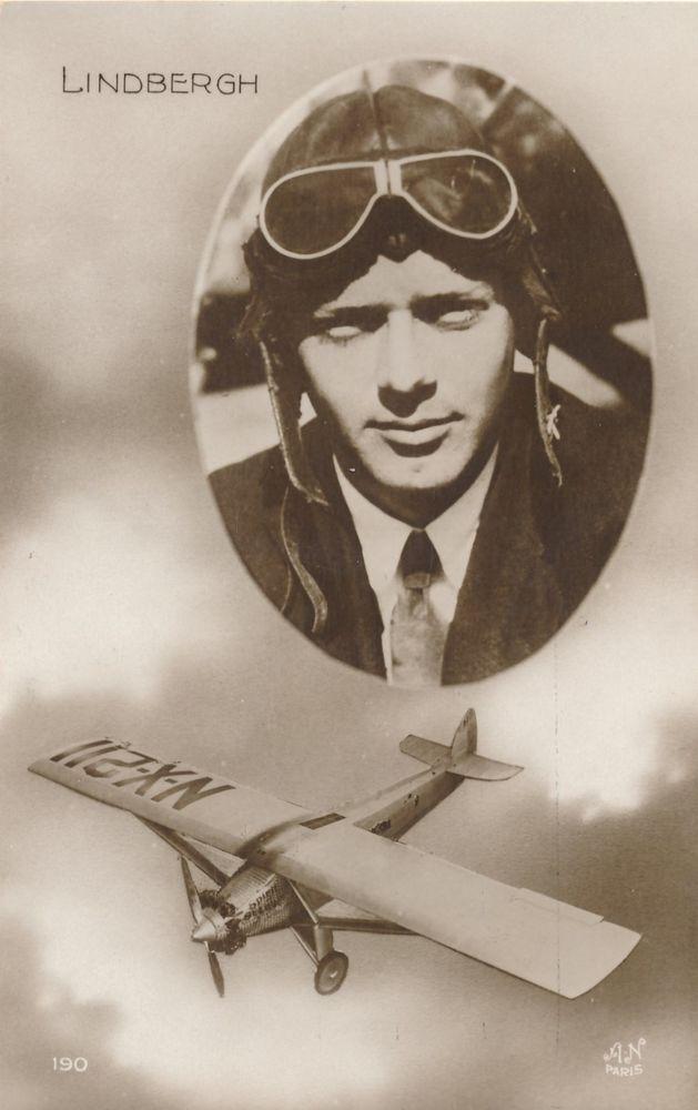 Charles LINDBERGH crossed The Atlantic 1927 ALONE in Spirit of St.Louis EB-391