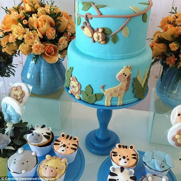 Pregnant Candice Swanepoel Reveals Anacã Is Name Of Her Unborn Son. Baby  Shower SafariThemed ...