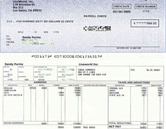 PayCheck Stub Online .com -FREE Instant preview- | Stuff to Buy ...