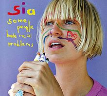 """sia album cover. She's a genius songwriter for those who don't know. She wrote """"Pretty Hurts"""" for Beyonce."""