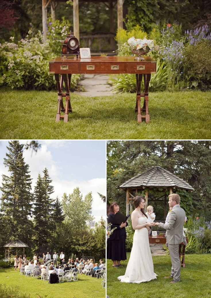 Marli and Carl's Wedding { Reader Rock Garden Wedding + River Cafe Reception } Calgary Wedding Photographer - Genevieve Renee Wedding Photography