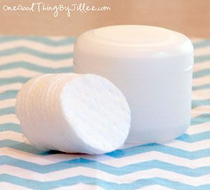 Homemade face cleansing pads - I have been making these and my 13 year old son LOVES them.  Give them a try!