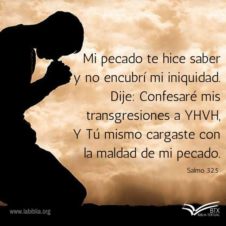 Salmo 32.5 Biblia Textual IV Ed.