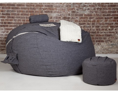 SuperSac Lovesac.  I want this and a big screen TV and a Wii.  And then I'll have a little oasis.