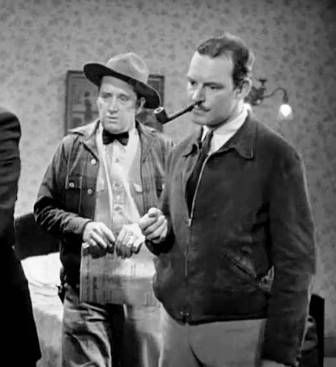 ??? and Ray Teal in ''Western Jamboree''  1938
