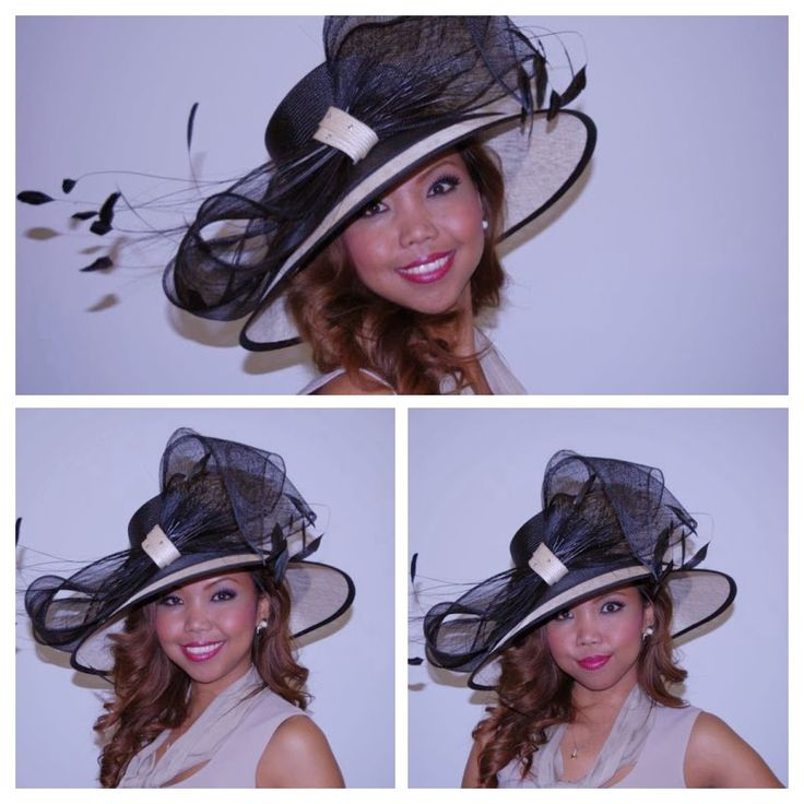 Ascot drama at the Simply Devine Hat Shop in Tadcaster.  Buy online or instore, UK.